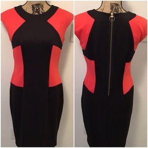 Beautiful R & M Richards Color Block Dress
